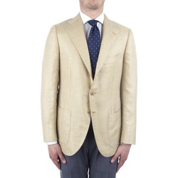 vaatteet Miehet Takit / Bleiserit Cesare Attolini S20MA43 Yellow