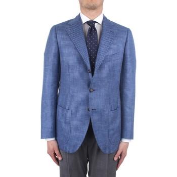 vaatteet Miehet Takit / Bleiserit Cesare Attolini S20MA43 Blue
