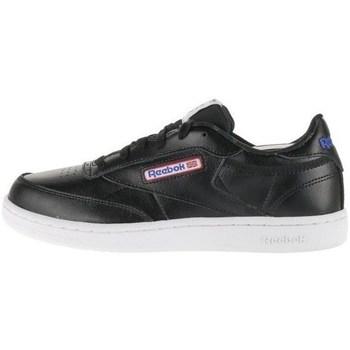 kengät Lapset Matalavartiset tennarit Reebok Sport Club C Valkoiset, Mustat