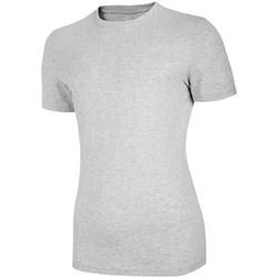 vaatteet Naiset Lyhythihainen t-paita 4F TSM003 Harmaat