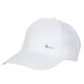 Asusteet / tarvikkeet Lippalakit Nike U NSW H86 METAL SWOOSH CAP White / Hopea