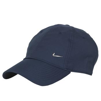 Asusteet / tarvikkeet Lippalakit Nike U NSW H86 METAL SWOOSH CAP Blue