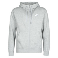 vaatteet Miehet Svetari Nike M NSW CLUB HOODIE FZ BB Grey
