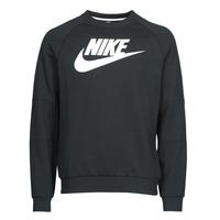 vaatteet Miehet Svetari Nike M NSW MODERN CRW FLC HBR Black