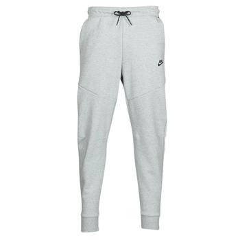 vaatteet Miehet Verryttelyhousut Nike M NSW TCH FLC JGGR Grey