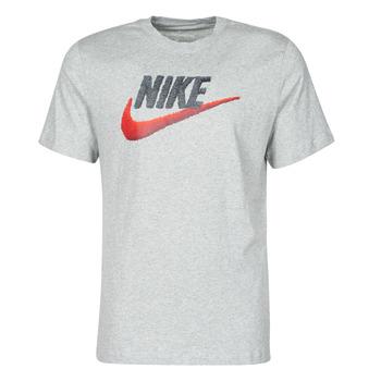 vaatteet Miehet Lyhythihainen t-paita Nike M NSW TEE BRAND MARK Grey