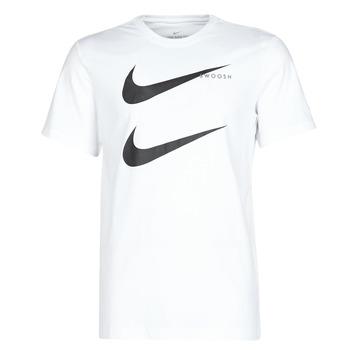 vaatteet Miehet Lyhythihainen t-paita Nike M NSW SS TEE SWOOSH PK 2 White