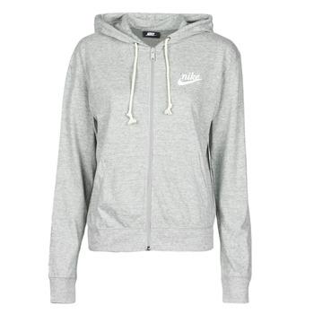 vaatteet Naiset Svetari Nike W NSW GYM VNTG HOODIE FZ Grey