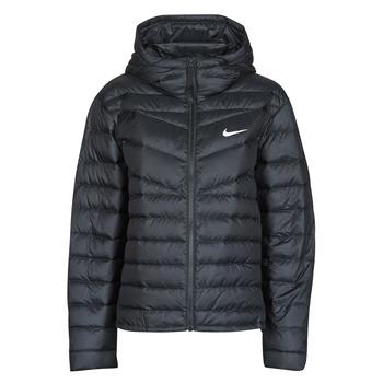 vaatteet Naiset Toppatakki Nike W NSW WR LT WT DWN JKT Black