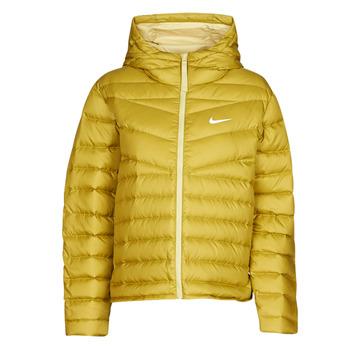 vaatteet Naiset Toppatakki Nike W NSW WR LT WT DWN JKT Khaki