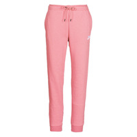 vaatteet Naiset Verryttelyhousut Nike W NSW ESSNTL PANT REG FLC Pink