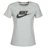 vaatteet Naiset Lyhythihainen t-paita Nike W NSW TEE ESSNTL ICON FUTUR Grey