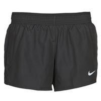 vaatteet Naiset Shortsit / Bermuda-shortsit Nike W NK 10K SHORT Black