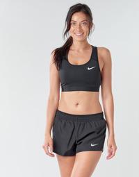 vaatteet Naiset Urheiluliivit Nike NIKE SWOOSH BAND BRA NON PAD Black