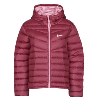 vaatteet Naiset Toppatakki Nike W NSW WR LT WT DWN JKT Viininpunainen