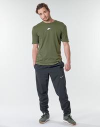 vaatteet Miehet Verryttelyhousut Nike M NK RUN STRIPE WOVEN PANT Musta