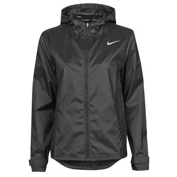 vaatteet Naiset Tuulitakit Nike W NK ESSENTIAL JACKET Musta