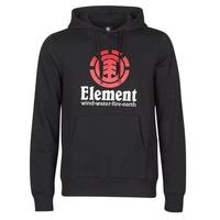 vaatteet Miehet Svetari Element VERTICAL HOOD Black