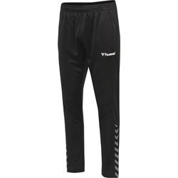 vaatteet Verryttelyhousut Hummel Pantalon  hmlAUTHENTIC Poly noir/blanc