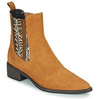 kengät Naiset Bootsit Regard BASTIA V3 VEL HAVANE Brown