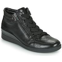 kengät Naiset Korkeavartiset tennarit Ara LAZIO-ST-HS Black