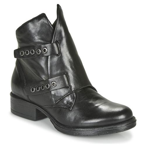kengät Naiset Bootsit Dream in Green NIMOVE Musta