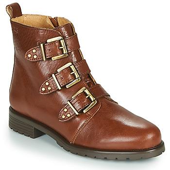 kengät Naiset Bootsit Dream in Green NOURAT Camel