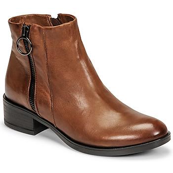 kengät Naiset Bootsit Dream in Green NARLINE Kamelinruskea