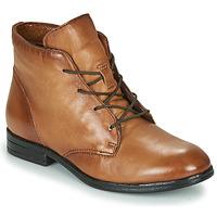 kengät Naiset Bootsit Dream in Green NERGLISSE Camel