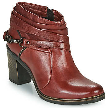 kengät Naiset Nilkkurit Dream in Green NEGUS Bordeaux