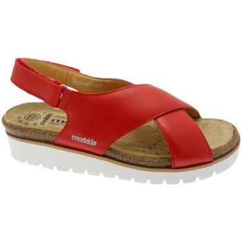 kengät Naiset Sandaalit ja avokkaat Mephisto MEPHTALLYro rosso