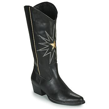 kengät Naiset Saappaat Fericelli NISCOME Black / Kulta