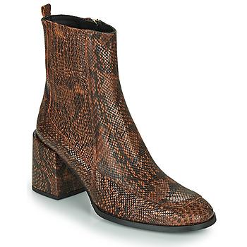 kengät Naiset Nilkkurit Fericelli NAKE Black / Brown