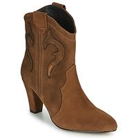 kengät Naiset Nilkkurit Fericelli NARLOTTE Camel / Kulta