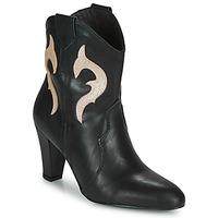 kengät Naiset Nilkkurit Fericelli NARLOTTE Musta / Kulta