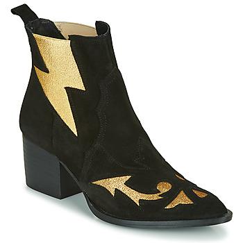 kengät Naiset Nilkkurit Fericelli NAUSSON Musta / Kulta