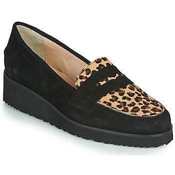 kengät Naiset Mokkasiinit Fericelli NECLAIR Black / Animal