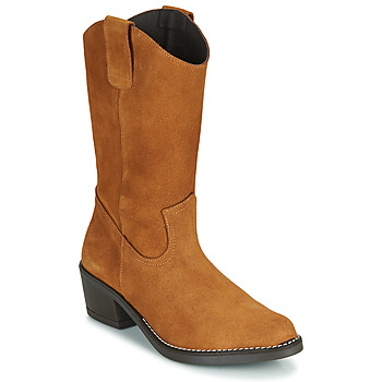 kengät Naiset Saappaat Casual Attitude NESCARGO Camel