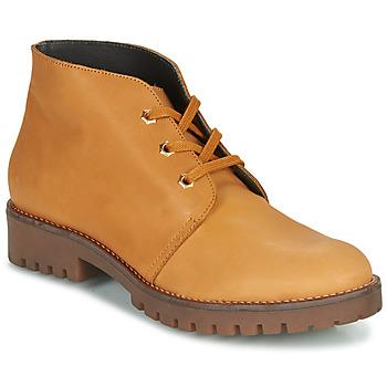 kengät Naiset Bootsit Casual Attitude NIBELLULE Camel