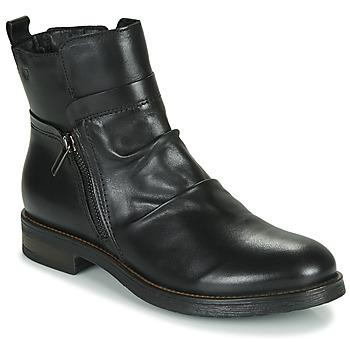 kengät Naiset Bootsit Casual Attitude NERMITE Black