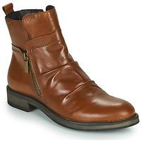 kengät Naiset Bootsit Casual Attitude NERMITE Camel