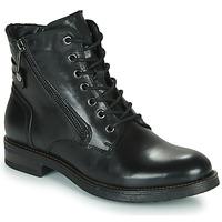 kengät Naiset Bootsit Casual Attitude NUNAISE Musta