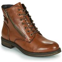 kengät Naiset Bootsit Casual Attitude NUNAISE Kamelinruskea