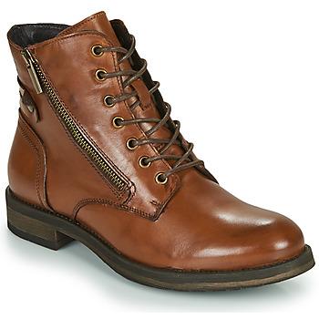 kengät Naiset Bootsit Casual Attitude NUNAISE Camel