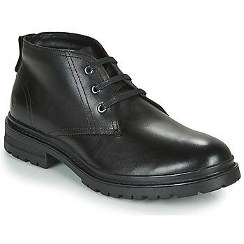 kengät Miehet Bootsit Casual Attitude NENDAME Musta
