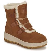 kengät Naiset Bootsit Casual Attitude NAREIGNE Camel