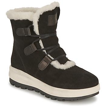 kengät Naiset Bootsit Casual Attitude NAREIGNE Musta