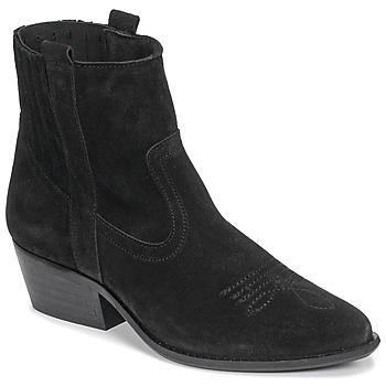 kengät Naiset Nilkkurit Casual Attitude NAUTERELLE Black