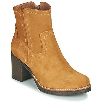 kengät Naiset Nilkkurit Casual Attitude NIGALE Kamelinruskea