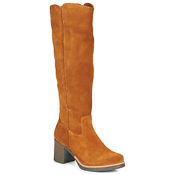 kengät Naiset Saappaat Casual Attitude HAPI Camel